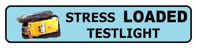 Stress Loaded Tester Button