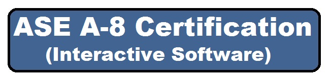 ASE A8 Certification Software