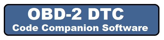 OBD 2 DTC code companion