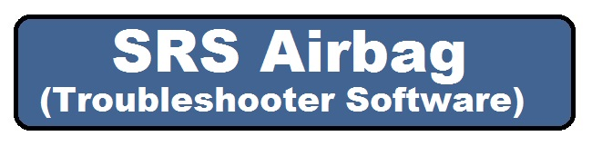 SRS air bags repair software