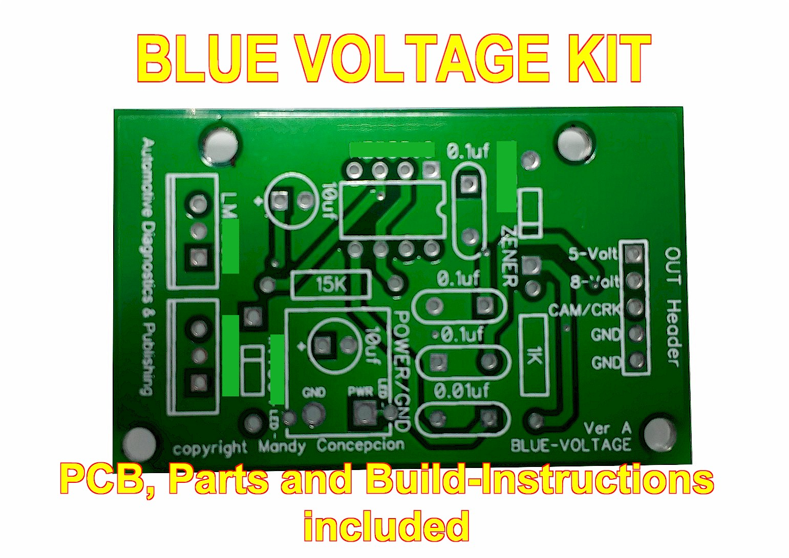 Blue Voltage Kit