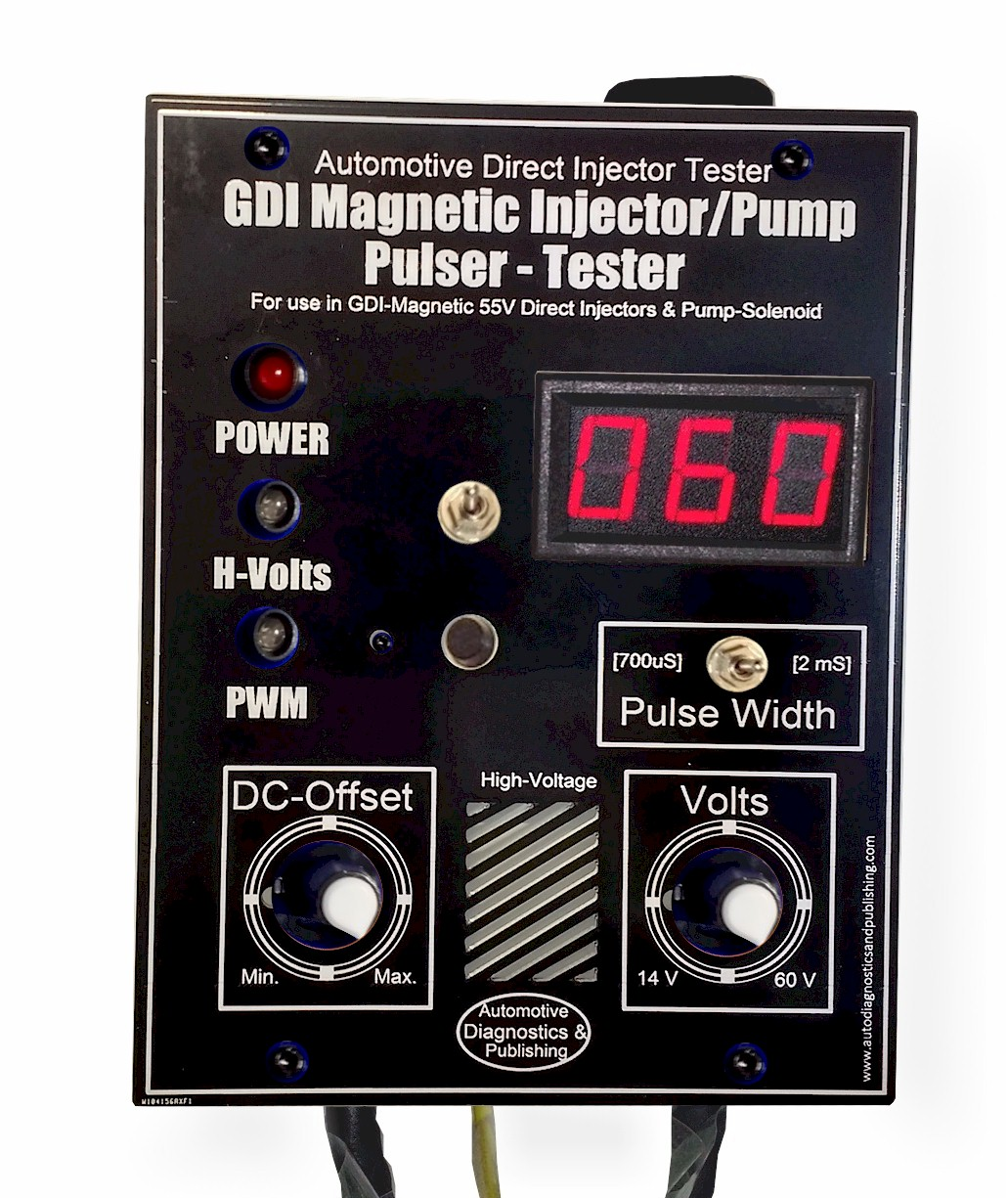 GDI Magnetic Direct Injector Tester