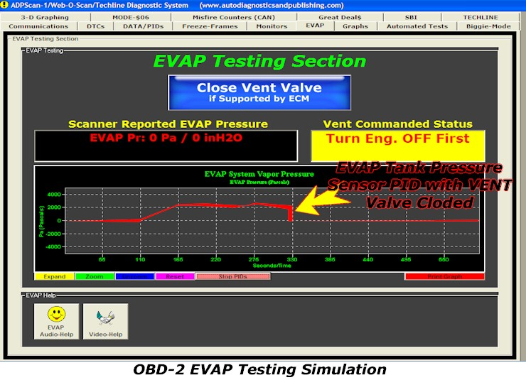 obd2_EVAP_Test_screenshot