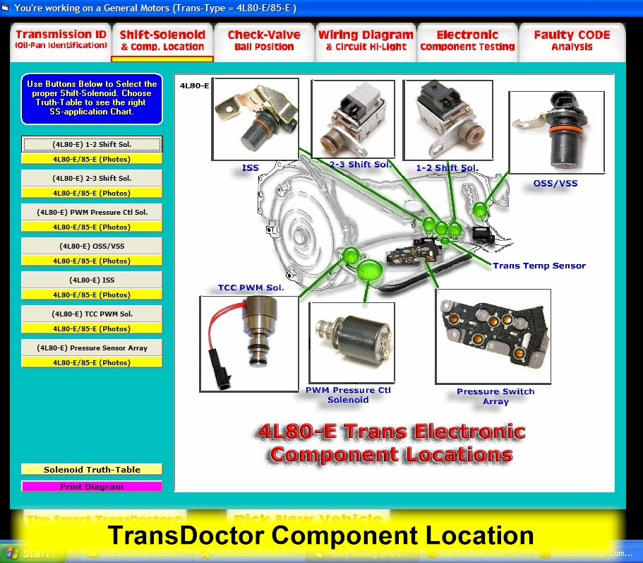 auto transmission shifter transdoctor
