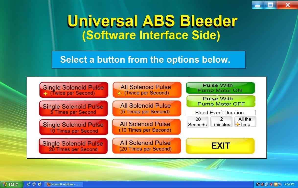 Universal ABS Bleeder Software 1