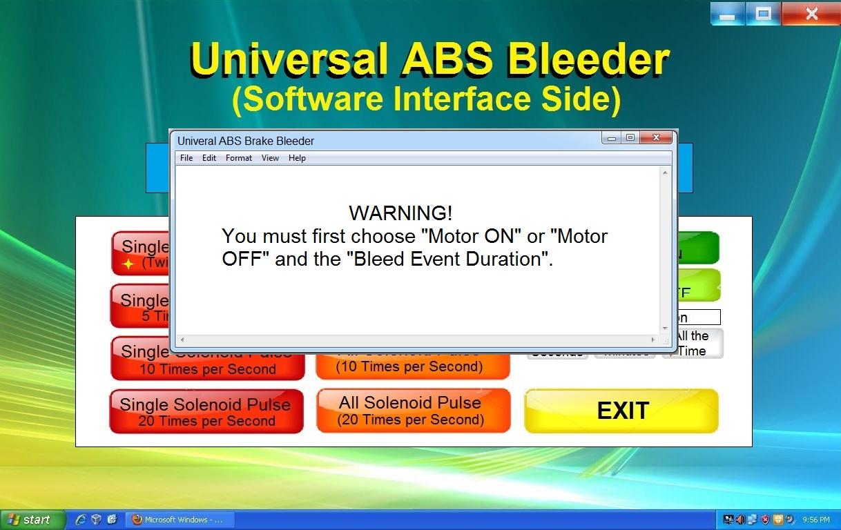 Universal ABS Bleeder 4