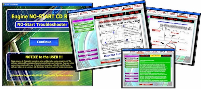 Automotive No Start                     Troubleshooter Software