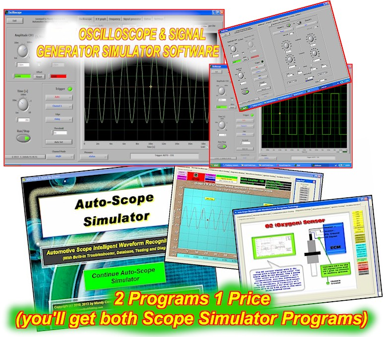 Automotive                  Oscilloscope Simulator Software