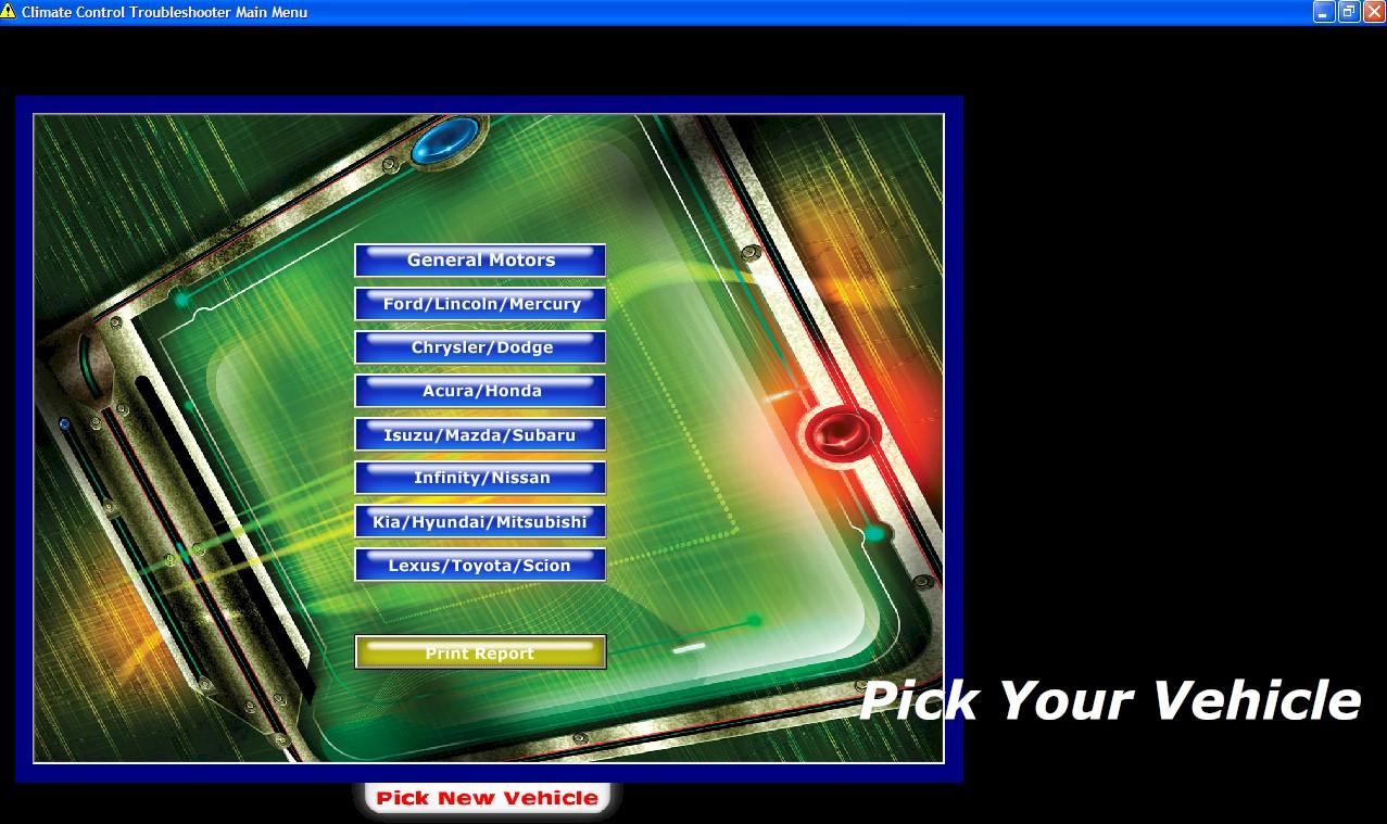 HVAC Software Screen 2
