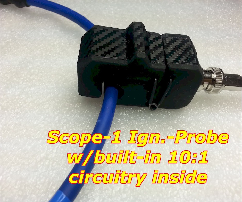 automotive secondary ignition probe