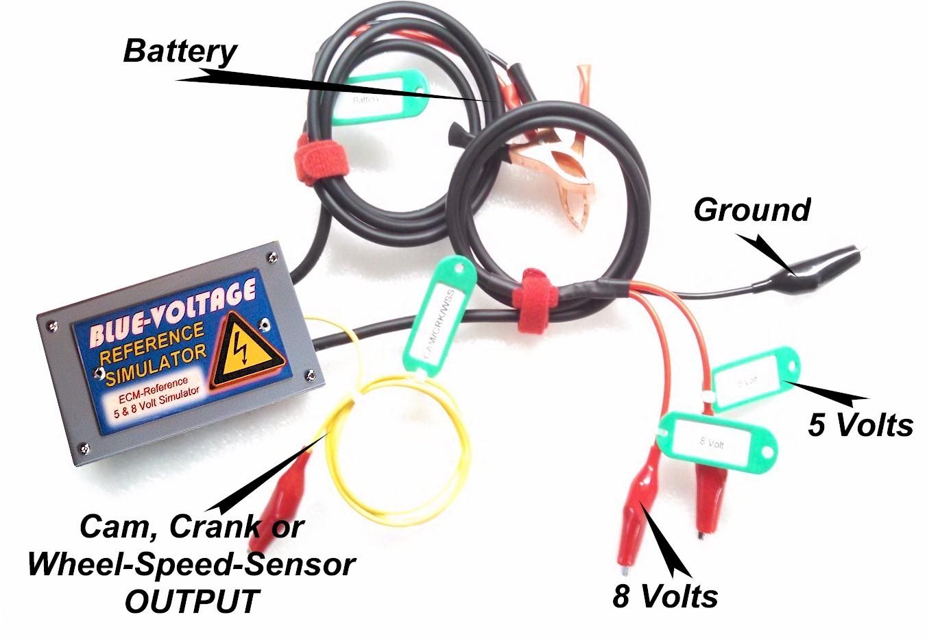 ecm reference voltage speed sensor simulator