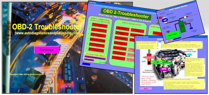 OBD-2 Troubleshooter                 auto repair Software