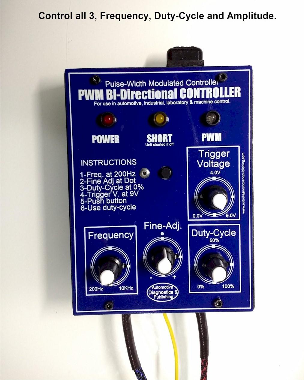 PWM Bi Directional Controller