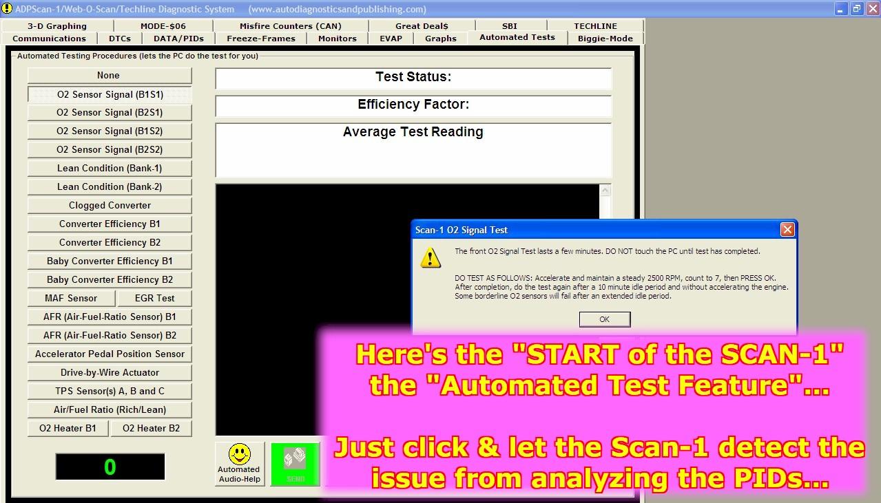 Scan-1 Automotive Diagnostic Scanner System